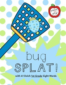 Bug Splat - Dolch Sight Words (1st Grade)