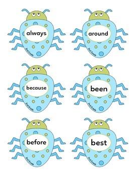 Bug Splat - Dolch Sight Words (2nd Grade)