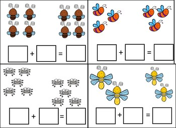 Bug, Spring, Growing Math Bundle