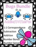 Bug, Spring, Growing Math Bundle