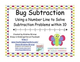 Bug Subtraction with Number Line