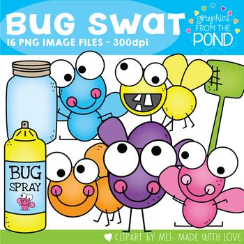 Bug Swat Clipart Set