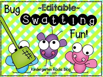 Bug Swatting Fun Sight Words