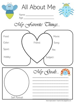 Bug Theme Classroom | Bug Theme | Bug All About Me