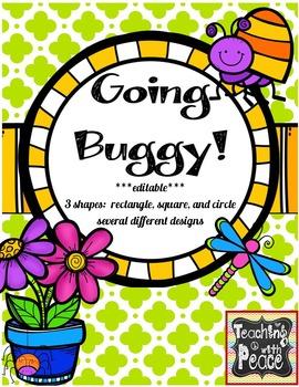 Bug Theme Labels *editable*
