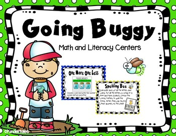 Bug Theme: Math and Literacy Centers