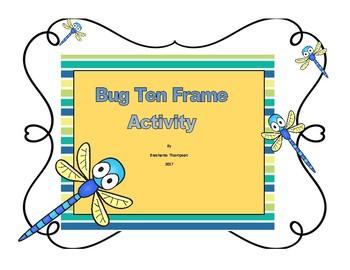 Bug Theme Ten Frame Set