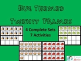 Bug Themed 20 Frames and Activity Set