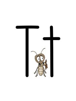 Bug Themed ABC Classroom Decor