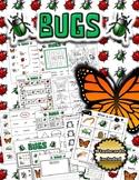 Bug Themed Activity Set / Worksheets + Flashcards