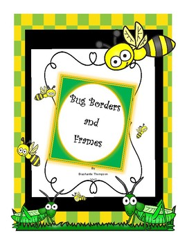 Bug Themed Borders and Frames
