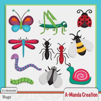 Bug Themed Clip Art