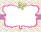 Bug Themed Editable Classroom Signs, Labels, Tags, Blank, Dots, Stripes, Insects