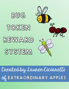 Bug Themed Individual or Class-wide Behavior Management System