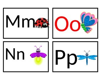 Bug Themed Word Wall Headers