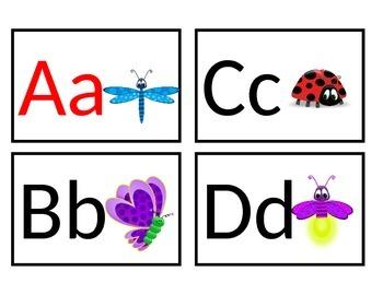 Bug Themed Word Wall Headers