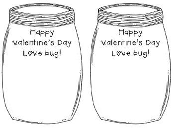 Bug Valentine Cards