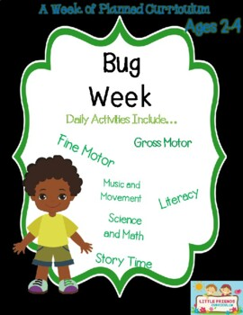 Bug Week Preschool Curriculum