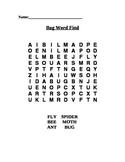 Bug Word Search