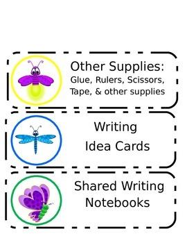Bug Writing Organization Labels
