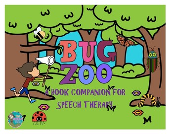 Bug Zoo - A Book Companion For Speech Therapy