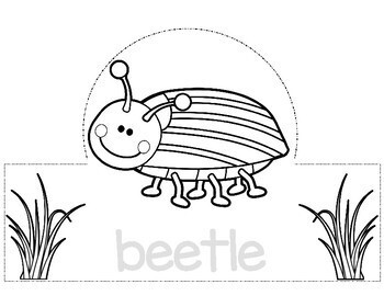 Bug and Insect Hats for your Bug Unit / Summer Fun