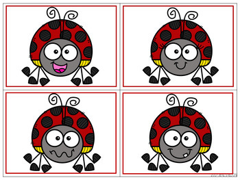 Bug and Insect Matching for Toddlers, Preschool, and PreK