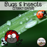 Bug and Insect Preschool Literacy Centers