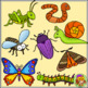 Bug clipart - Insect and Minibeast Clipart, Color and BW