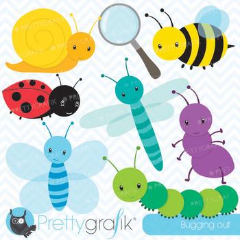 Bug clipart commercial use, vector graphics, digital clip art - CL555