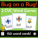 Short Vowel CVC Games: Bug on a Rug