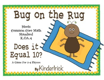 Bug on the Rug Math Game