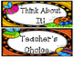 Bug or Garden Theme Classroom- Behavior Management Clip Chart Pack!