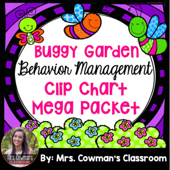 Bug or Garden Theme Classroom- Behavior Management Clip Ch