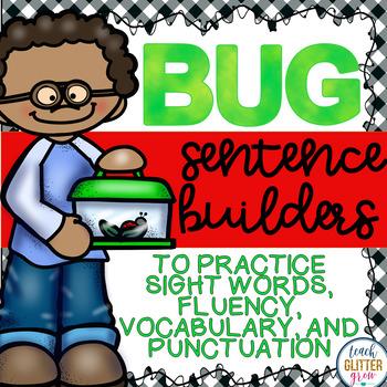 Bug themed Sentence Building