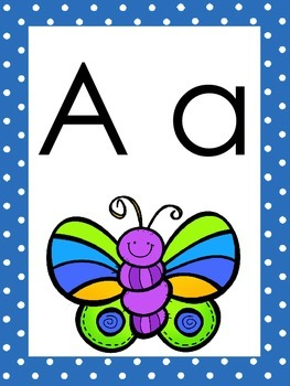 Bug/Insect Themed Alphabet Wall Display!
