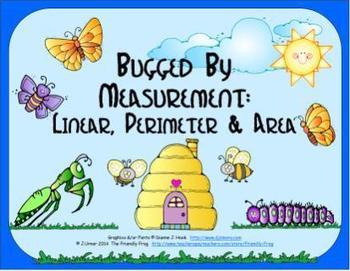 Bugged By Measurement: Linear, Perimeter & Area