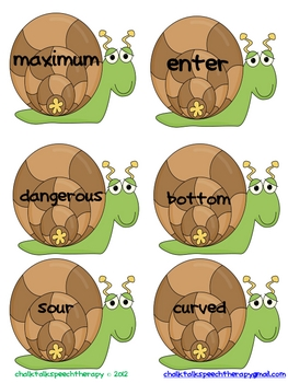 Bugged Out Antonyms a mini antonym activity and game