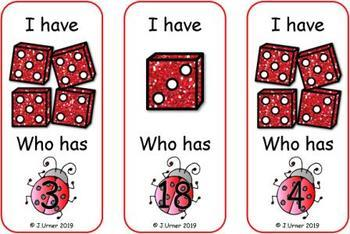Bugged by Counting 1-20 Bundle {Subitizing with Dice}