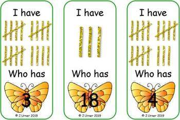 Bugged by Counting 1-20 Bundle {Subitizing with Tally Marks}
