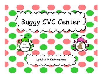 Buggie CVC Words FREEBIE