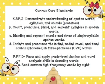 Buggin Around ELA Common Core Aligned