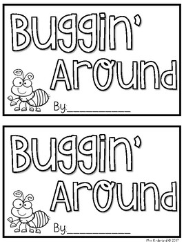 Buggin' Around Guided Reading Book