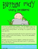 Buggin' (May) Math Story Problems