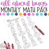 Buggin' Out Math Printables for Special Education