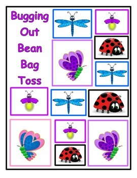 Bugging Out Bean Bag Toss Multiplication (Question Set C)