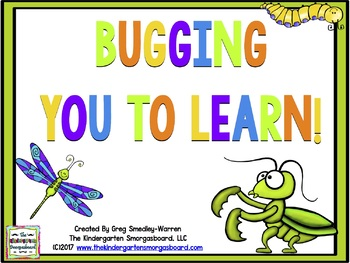 Bugging You To Learn!  Bugs Themed Math And Literacy Center Creation
