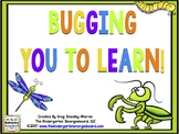 Bugging You to Learn: Bugs Math and Literacy Centers