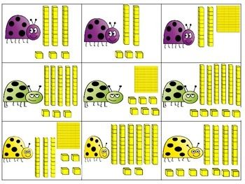 Bugging for place value (hundreds, tens, ones)