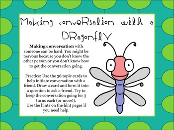 Bugging out with Social Skills- Initiating Conversation